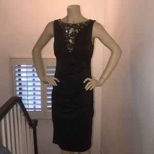 Black evening dress, worn twice
